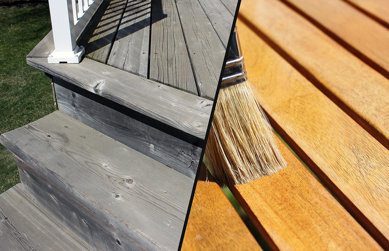 revêtement extérieur bois traité